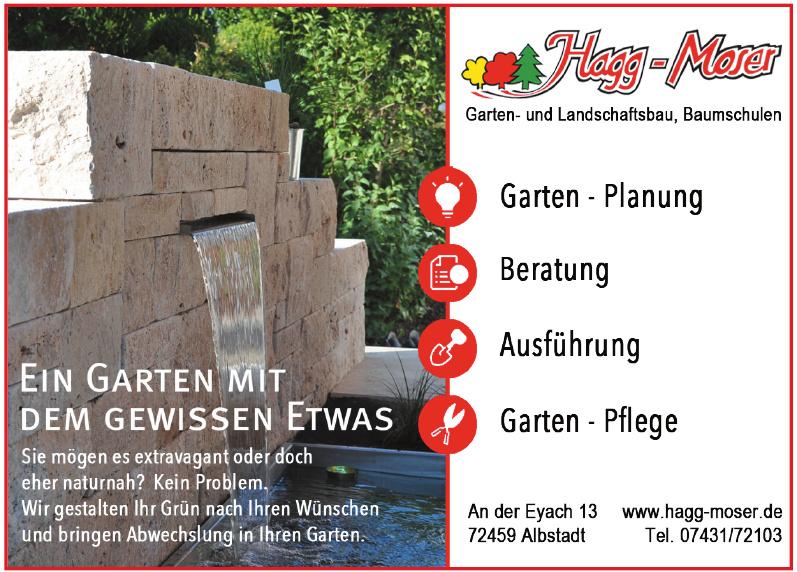 Hagg-Moser Garten- und Landschaftsbau, Baumschulen