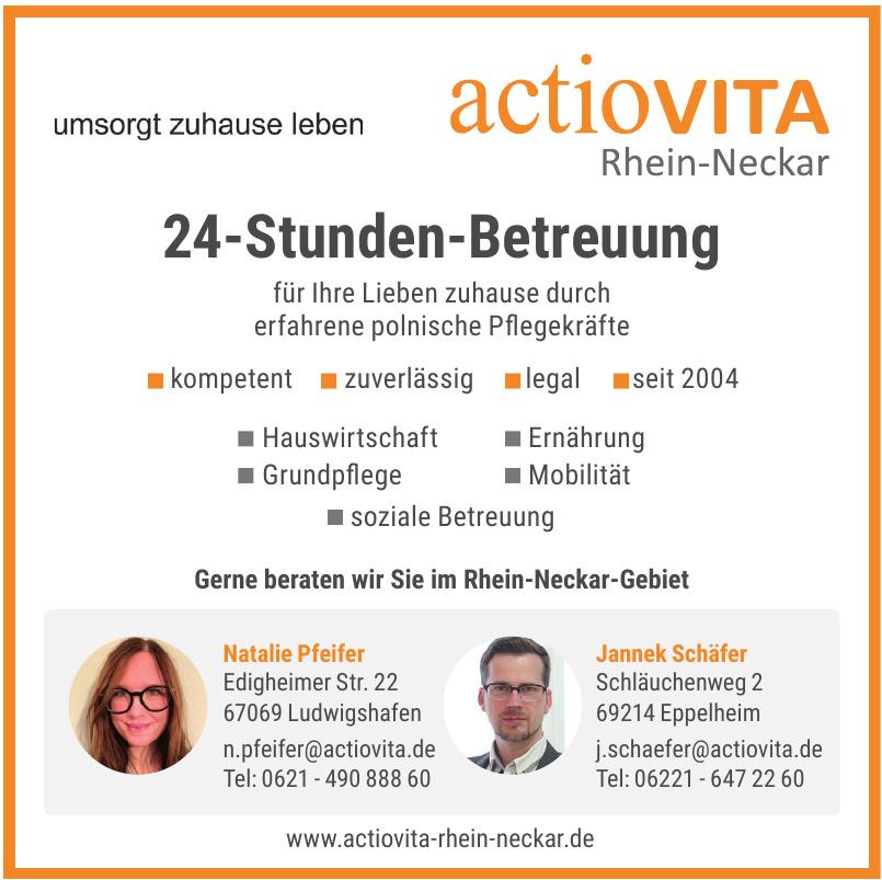 Actiovita Rhein-Neckar