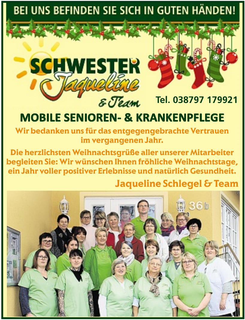 Schwester Jaqueline & Team