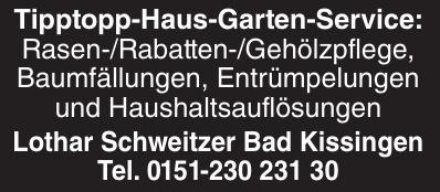 Lothar Schweitzer Bad Kissingen