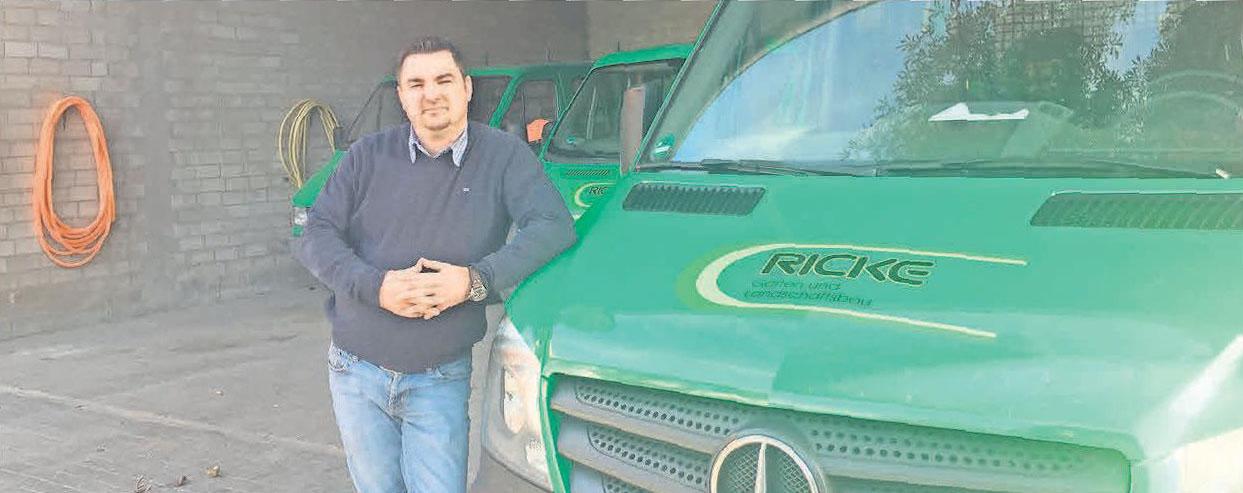 Marcel Brümann führt die Firma Ricke zusammen mit seiner Frau Tanja Brümann in zweiter Generation seit 2016.