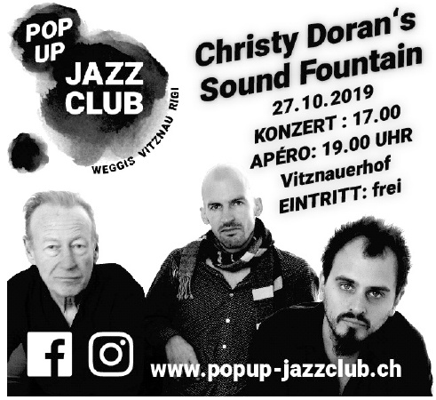 Pop Up Jazz Club