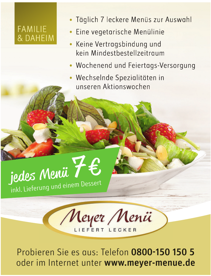 Meyer Menü
