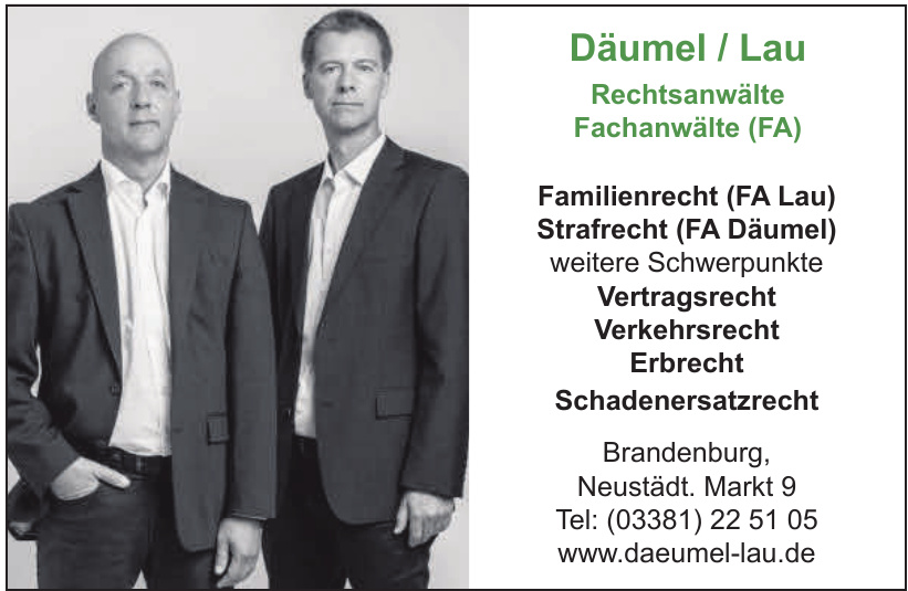 Däumel / Lau - Rechtsanwälte - Fachanwälte (FA)