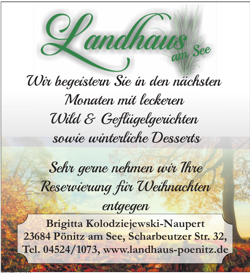 Landhaus am See