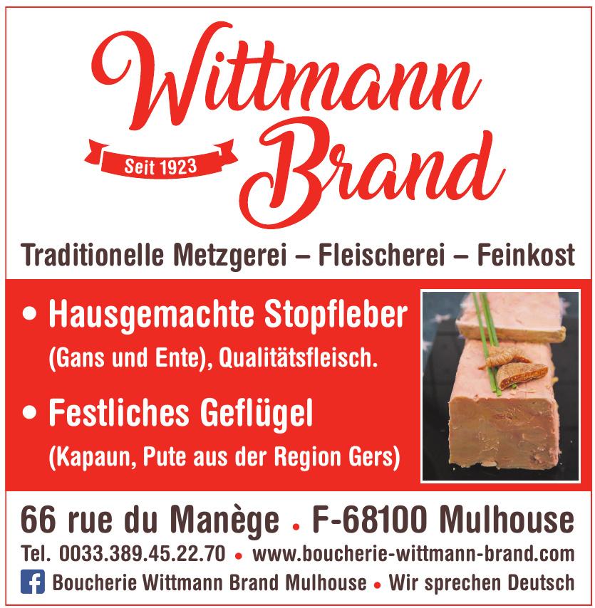 Wittmann Brand