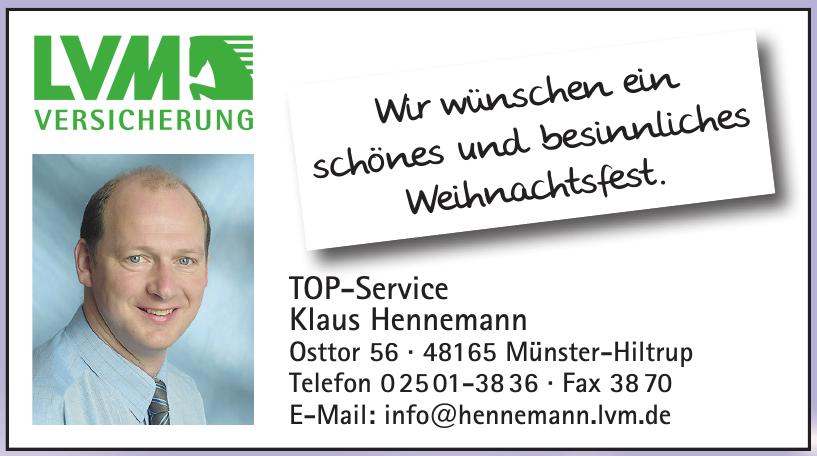 Klaus Hannemann - LVM Versicherung