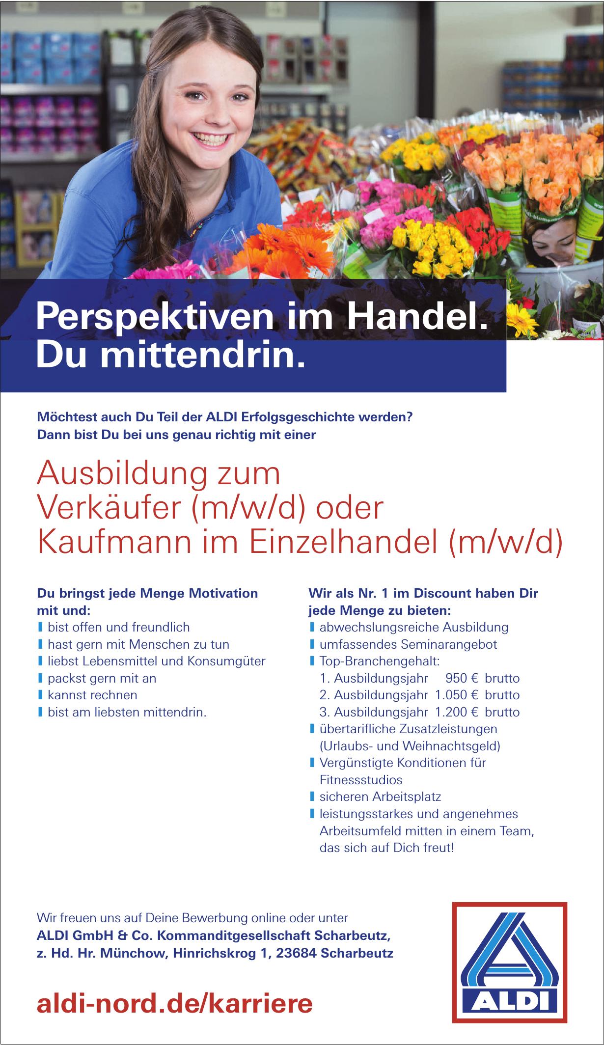 ALDI GmbH & Co. Kommanditgesellschaft Scharbeutz
