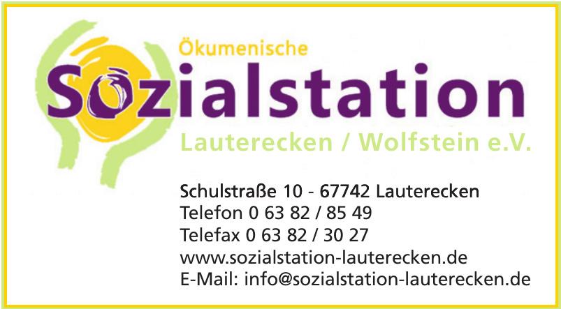 Ökumenische Sozialstation Lauterecken-Wolfstein