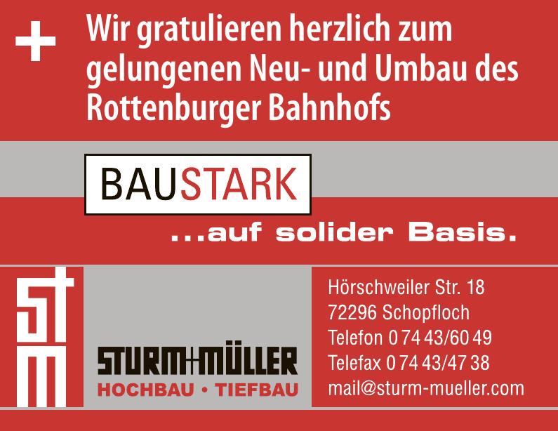 Sturm + Müller Hochbau - Tiefbau