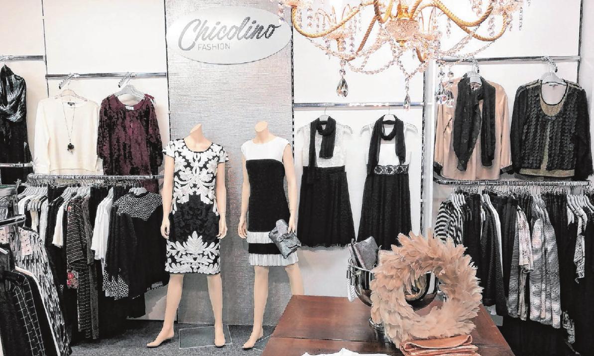 Edle und chice Kleider für festliche Anlässe aller Art: Das gibt es nun bei Chicolino fashion in Langenau. Foto: Chicolino fashion
