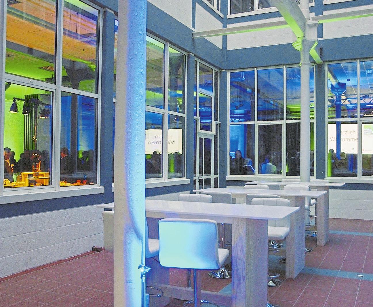 Für Veranstaltungen aller Art bieten sich die Räumlichkeiten im WZG an.