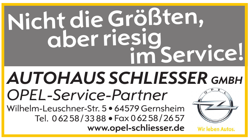Autohaus Schliesser GmbH