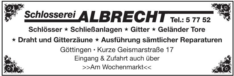 Schlosserei Albrecht