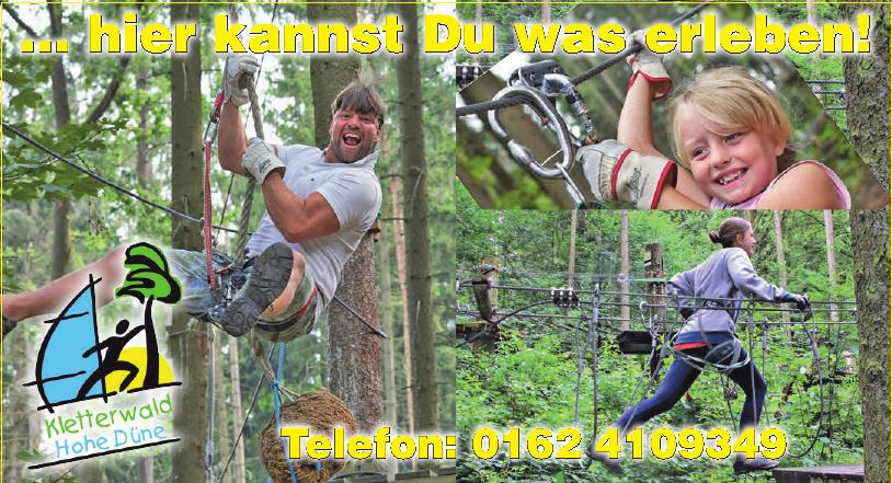 Kletterwald Hohe Dine
