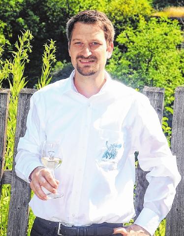 """Geschäftsführer Peter Weis steht mit der """"Weinfest UG"""" an der Spitze des Organisationskomitees."""