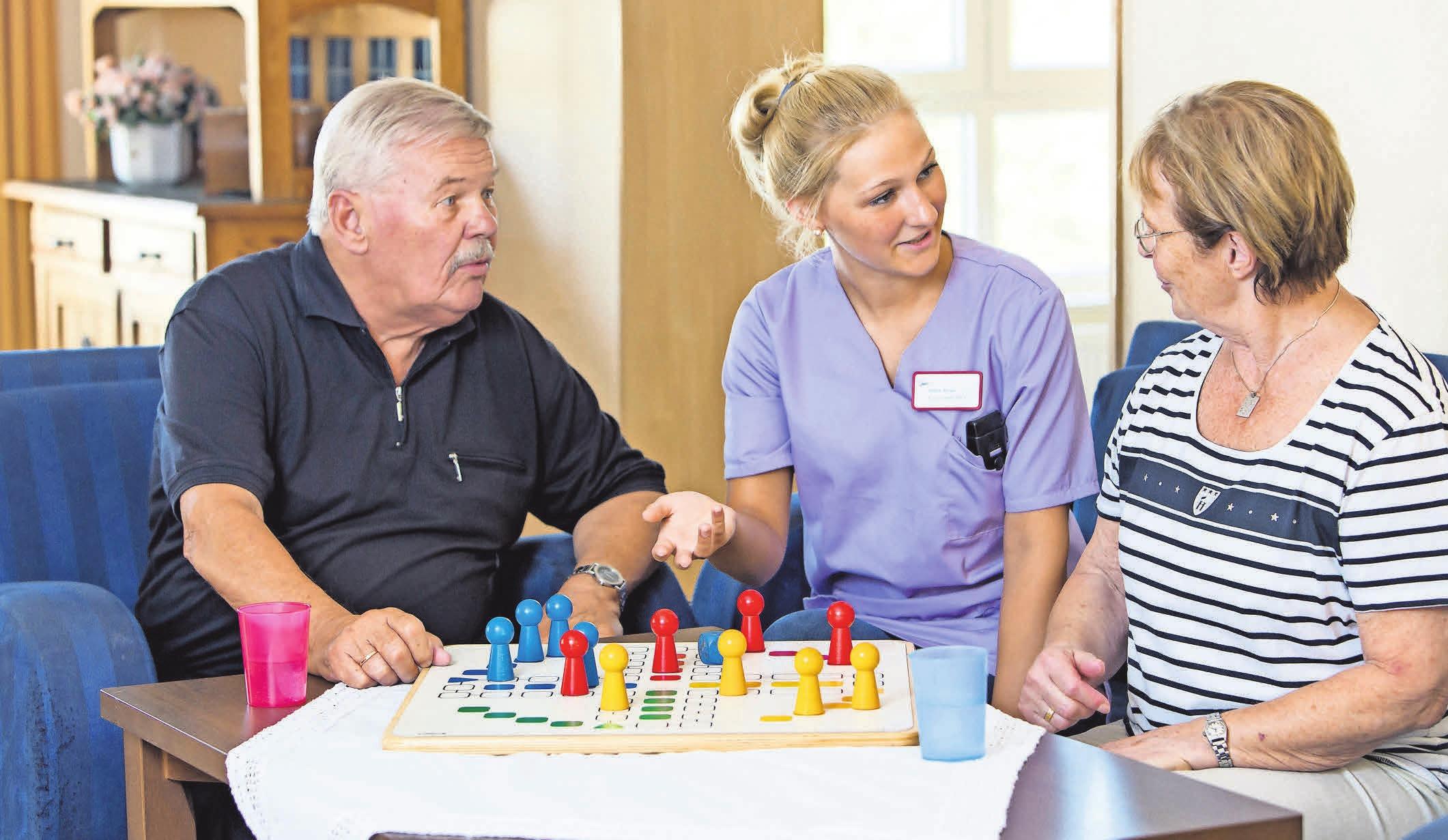 Auch Spiel und gemeinsamer Spaß stehen auf der Tagesordnung. Foto: AOK