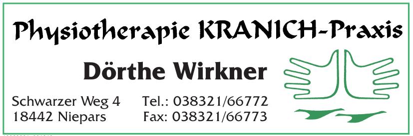 Physiotherapie Kranich-Praxis Dörthe Wirkner