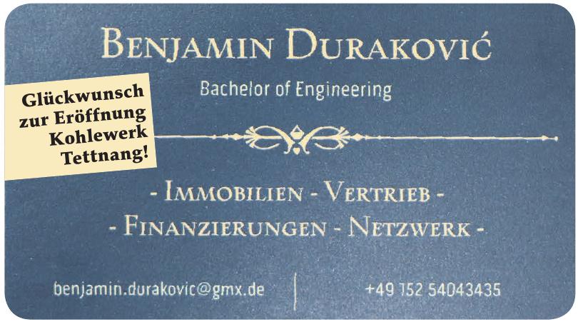 Benjamin Durakovic