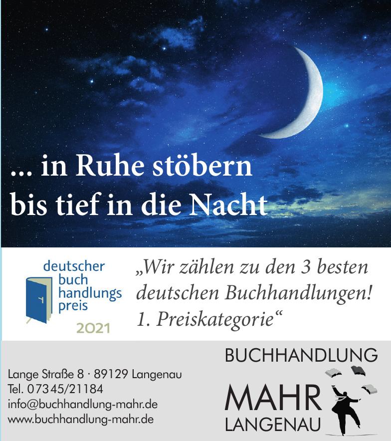 Buchhandlung Mahr Langenau