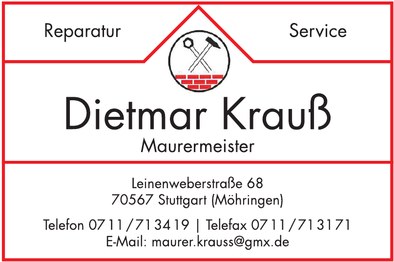 Dietmar Krauss Mauermeister
