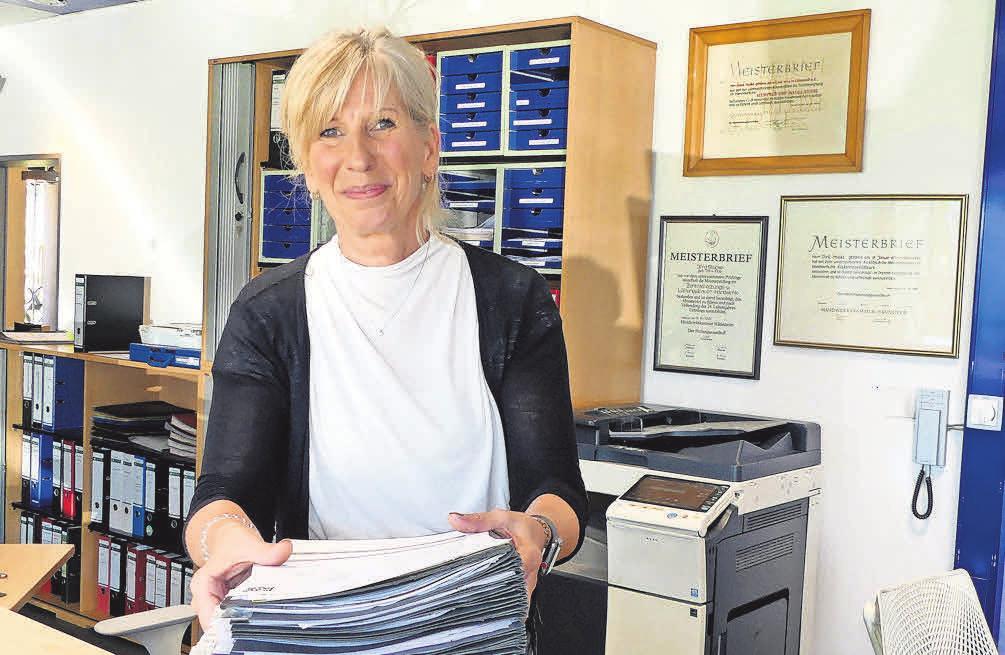 Im Büro bei Katrin Schulz laufen die Fäden zusammen.