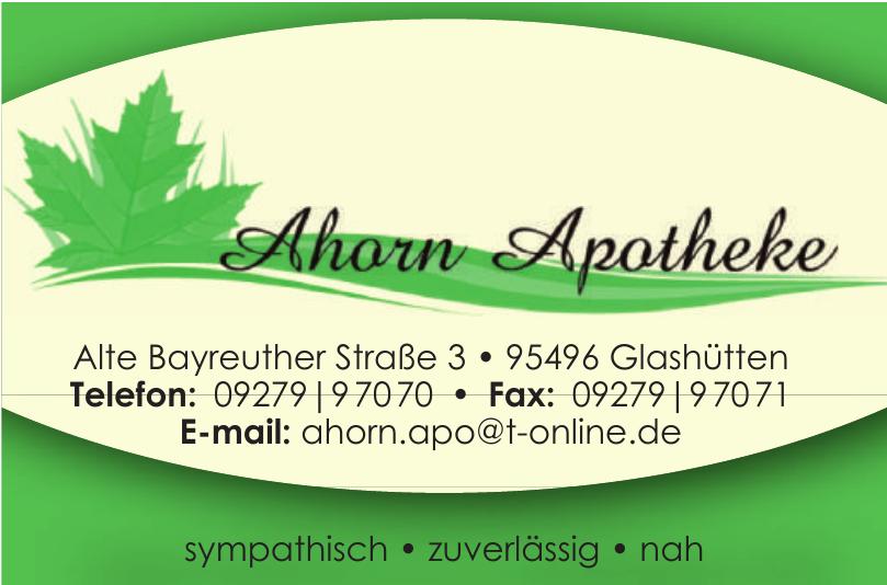 Ahorn Apotheke