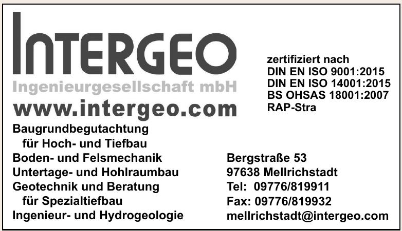 Intergeo Ingenieurgesellschaft mbH