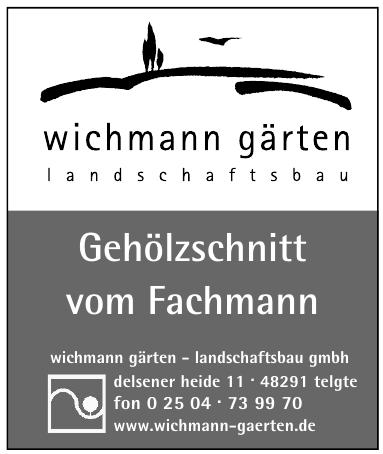 wichmann gärten - landschaftsbau gmbh