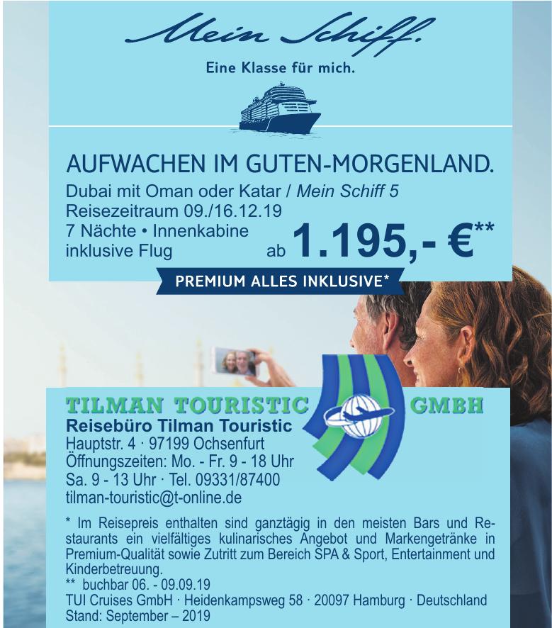 Tilman Touristic GmbH - Reisebüro Tilman Touristic