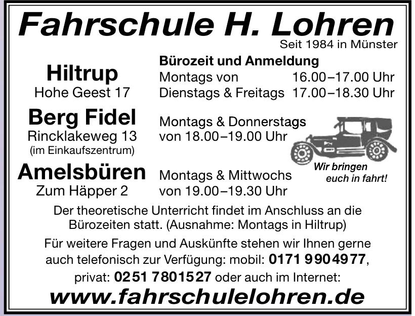Fahrschule H. lohren