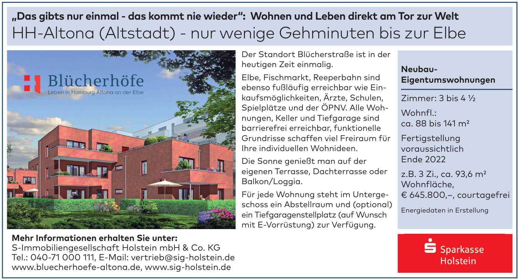 S-Immobiliengesellschaft Holstein mbH & Co. KG