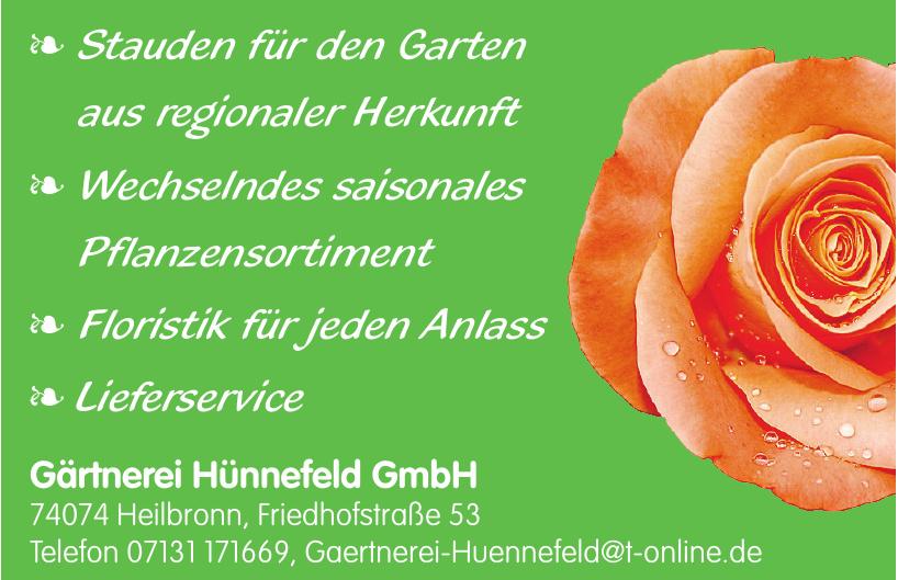 Gärtnerei Hünnefeld GmbH