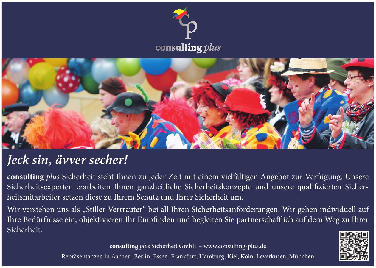 consulting plus Sicherheit GmbH