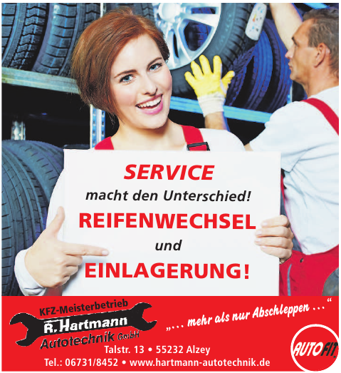 KFZ-Meisterbetrieb R. Hartmann Autotechnik GmbH