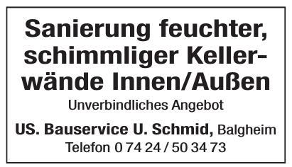 US. Bauservice U. Schmid