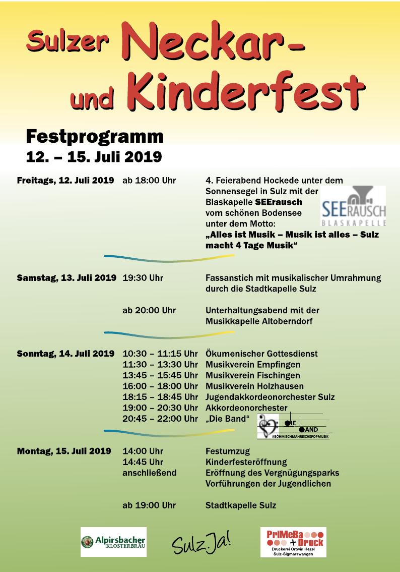 Sulzer Neckar- und Kinderfest