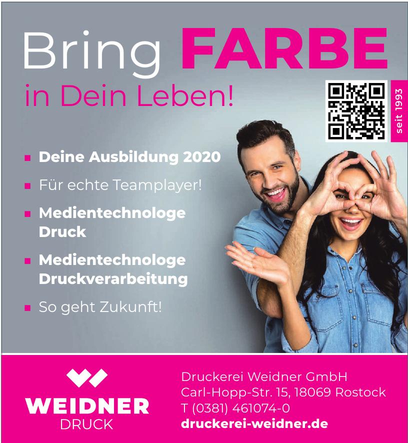 Druckerei Weidner GmbH
