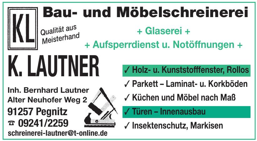 Bau- und Möbelschreinerei K. Lautner