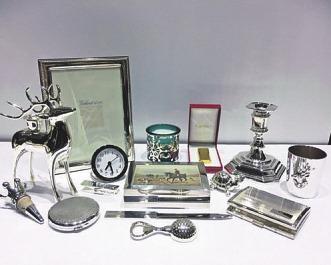 Das große Silberwaren-Sortiment bei Ballhorn bietet viele Geschenkideen Foto: Ballhorn