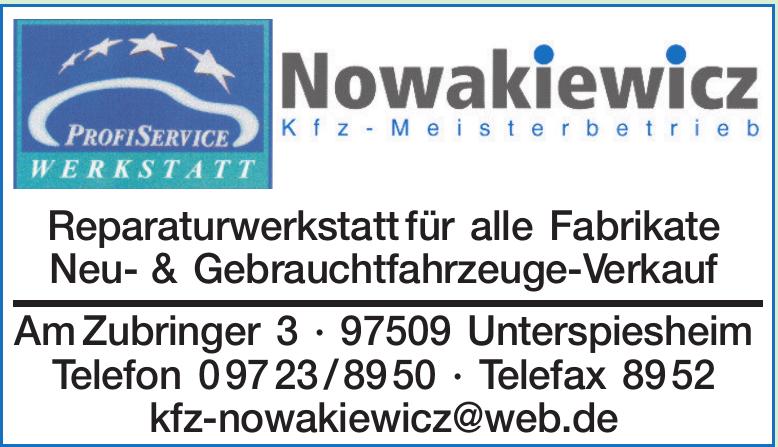 Marian Nowakiewicz Kfz-Werkstatt