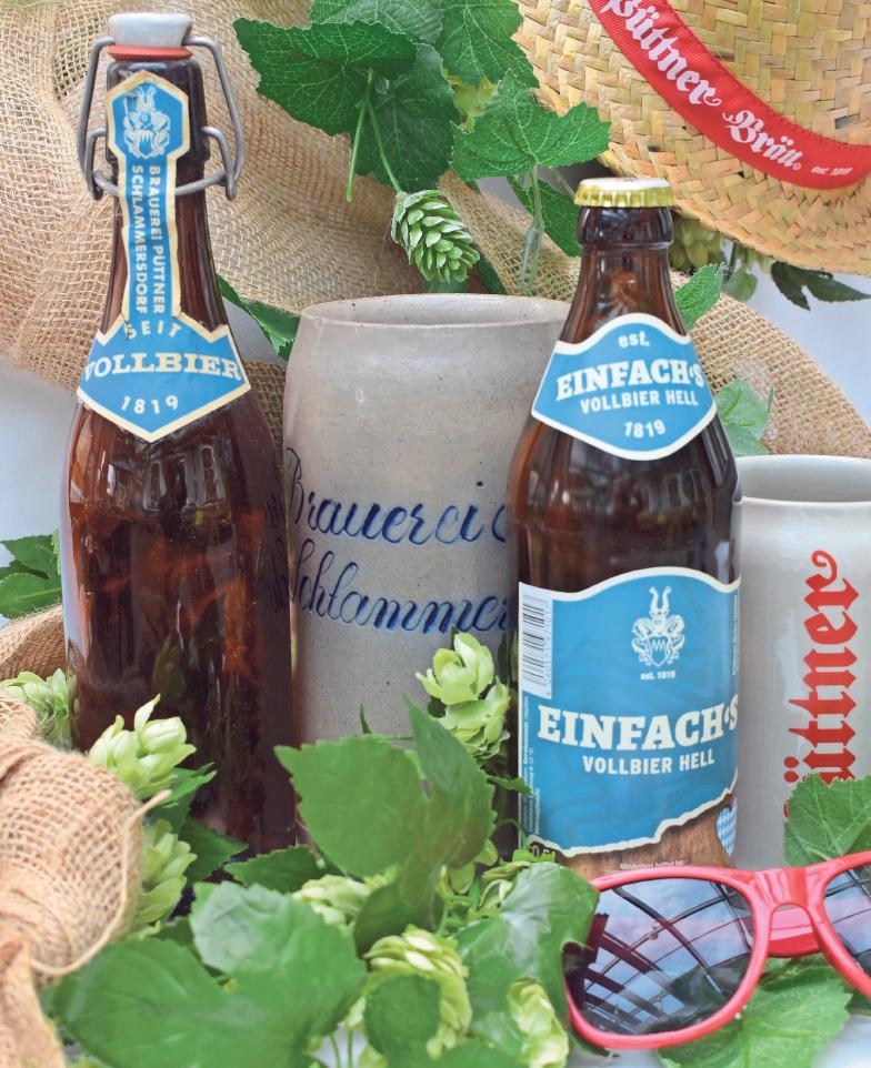 """Das Bier steht im Mittelpunkt des Jubiläumsjahres: Mit dem """"Einfach's"""" wurde ein Original-Rezept aus dem Jahr 1819 wiederbelebt."""