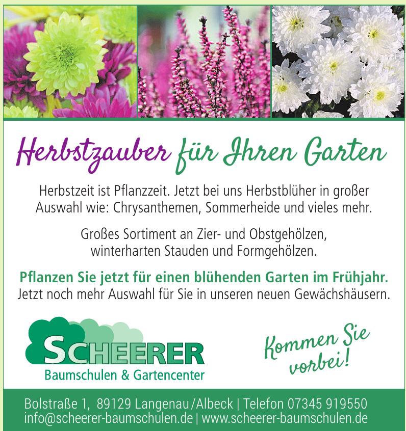 Scheerer Baumschulen & Gartencenter
