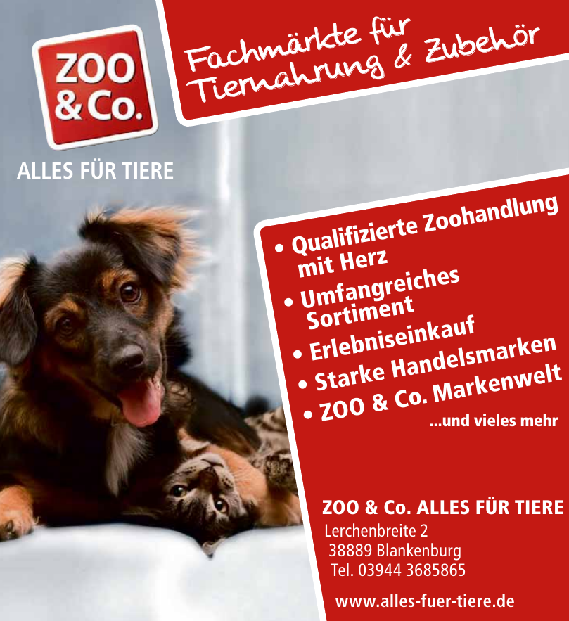 Zoo & Co. Alles für Tirere