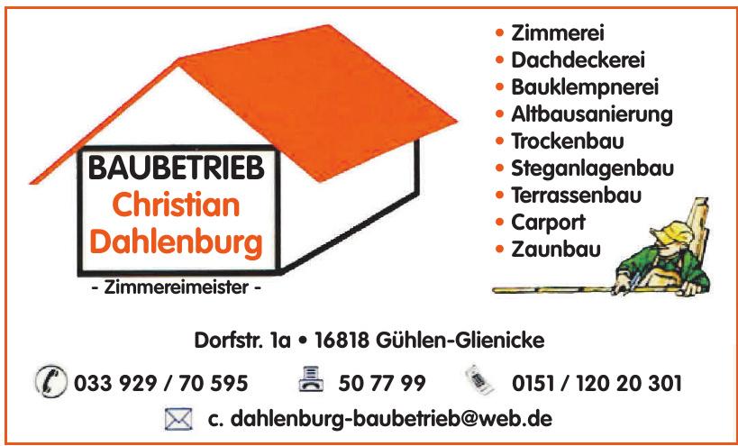 Baubetrieb Christian Dahlenburg