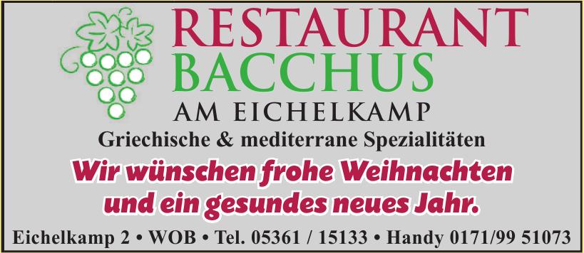 Restaurant Bacchus Wolfsburg