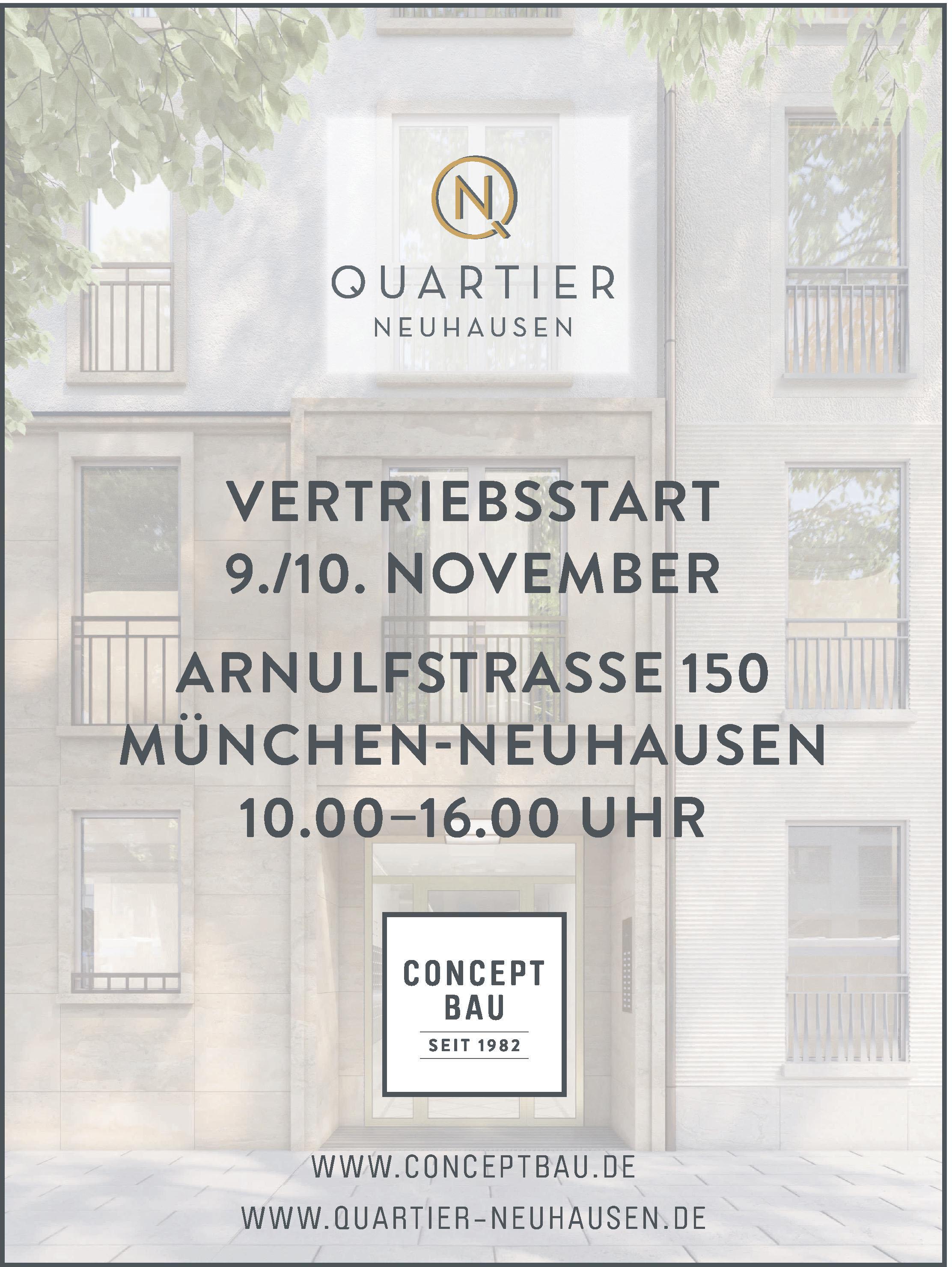 CONCEPT BAU - Quartier Neuhausen
