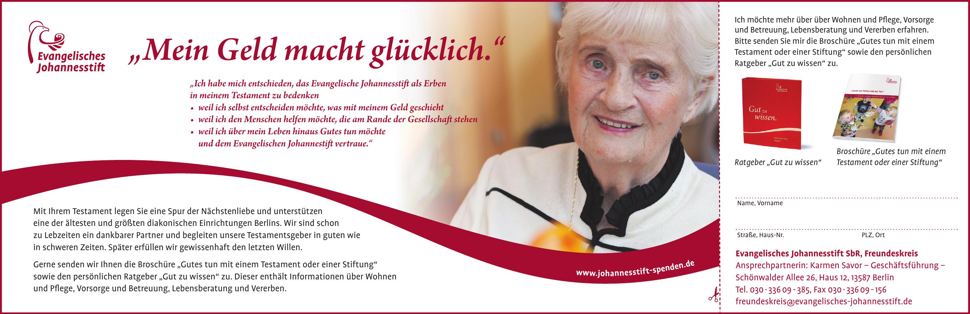 Evangelisches Johannesstift SbR Freundeskreis