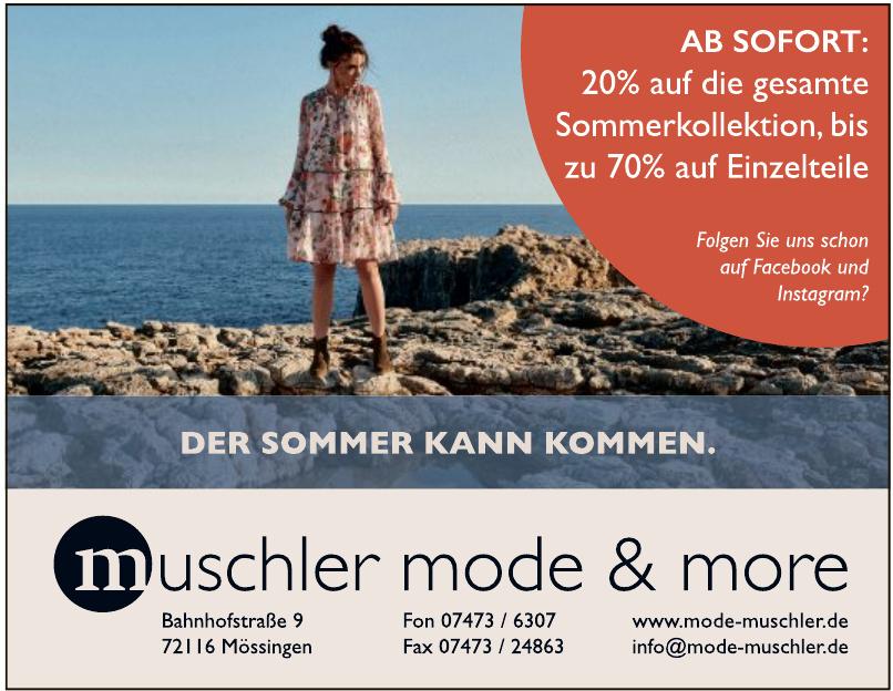 muschler mode&more