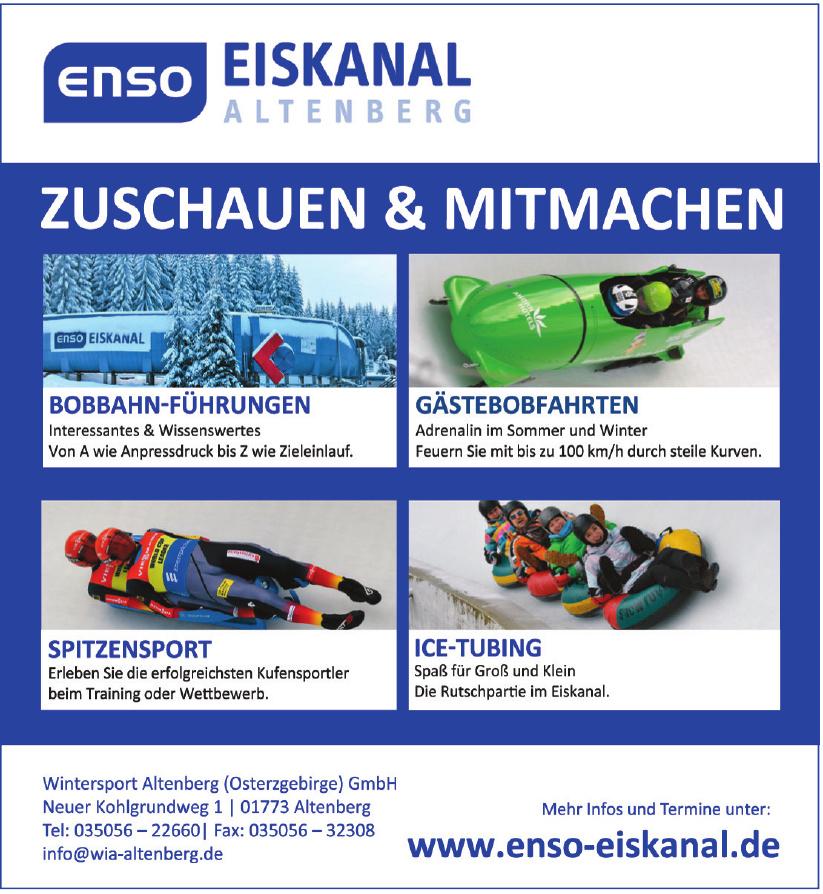 Wintersport Altenberg (Osterzgebirge) GmbH
